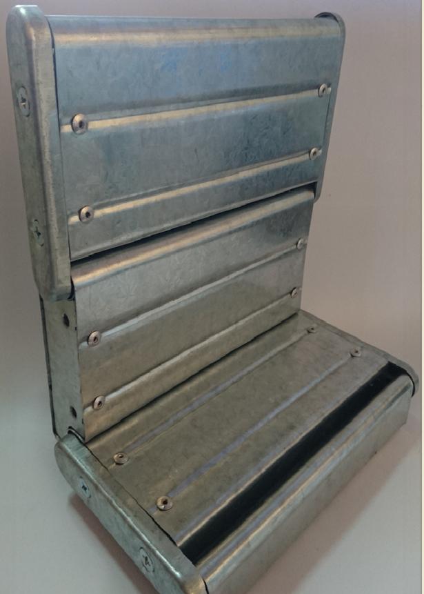 60A阻熱性防火捲門(鍍鋅/鍍鋅烤漆/白鐵) 1