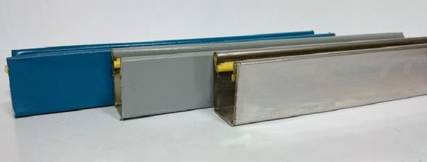 電動消音邊柱(烤漆/白鐵) 1