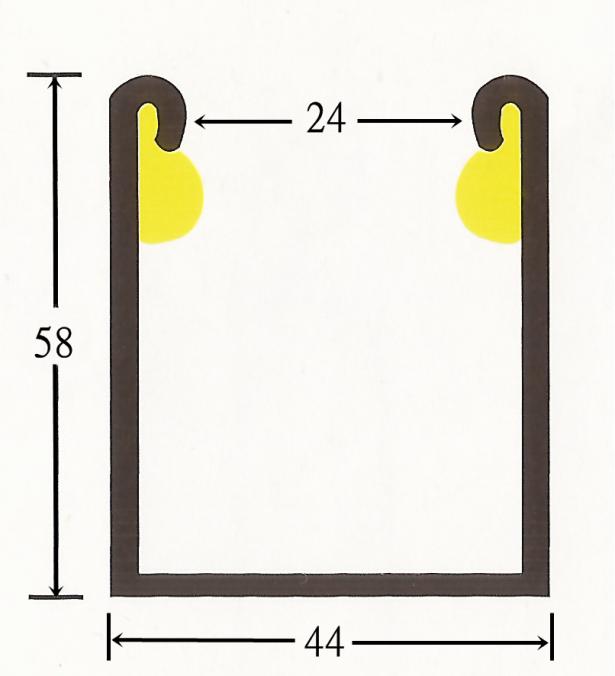 電動消音邊柱(烤漆/白鐵) 2