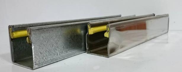 電動消音邊柱2.0(鍍鋅/白鐵) 1