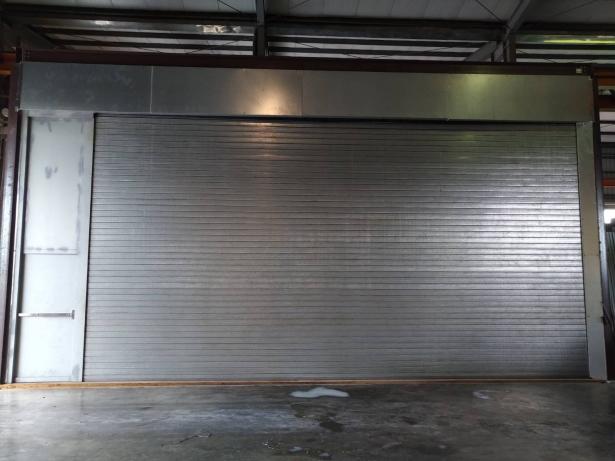 超大尺寸 F120/60A 阻熱型遮煙防火捲門(含彈射門) 1