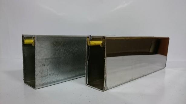 馬達專用消音邊柱2.0(鍍鋅/白鐵) 1