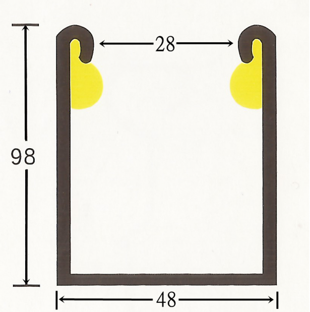 馬達專用消音邊柱2.0(鍍鋅/白鐵) 2