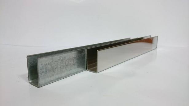 2折手拉邊柱(鍍鋅/白鐵) 1