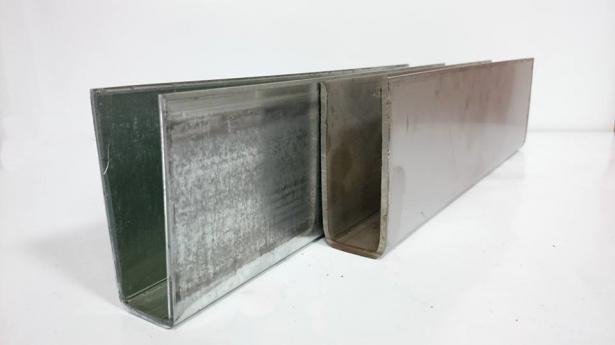 2折100型電動邊柱(鍍鋅/白鐵) 1